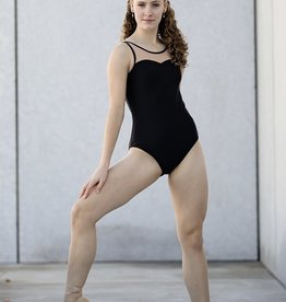 Chic Ballet The Kensington Leotard Black (CHIC111-BLK)