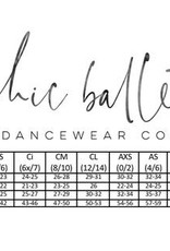 Chic Ballet The Kensington Leotard Black (CHIC111-BLK)