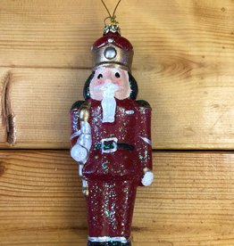 Nutcracker Ornament Red