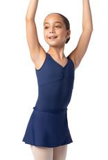 So Danca SL68 White Youth Junior Wrap Skirt
