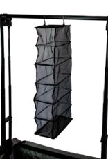 GG 6-Shelf Transparent Hanging Shoe/Accessory Organizer