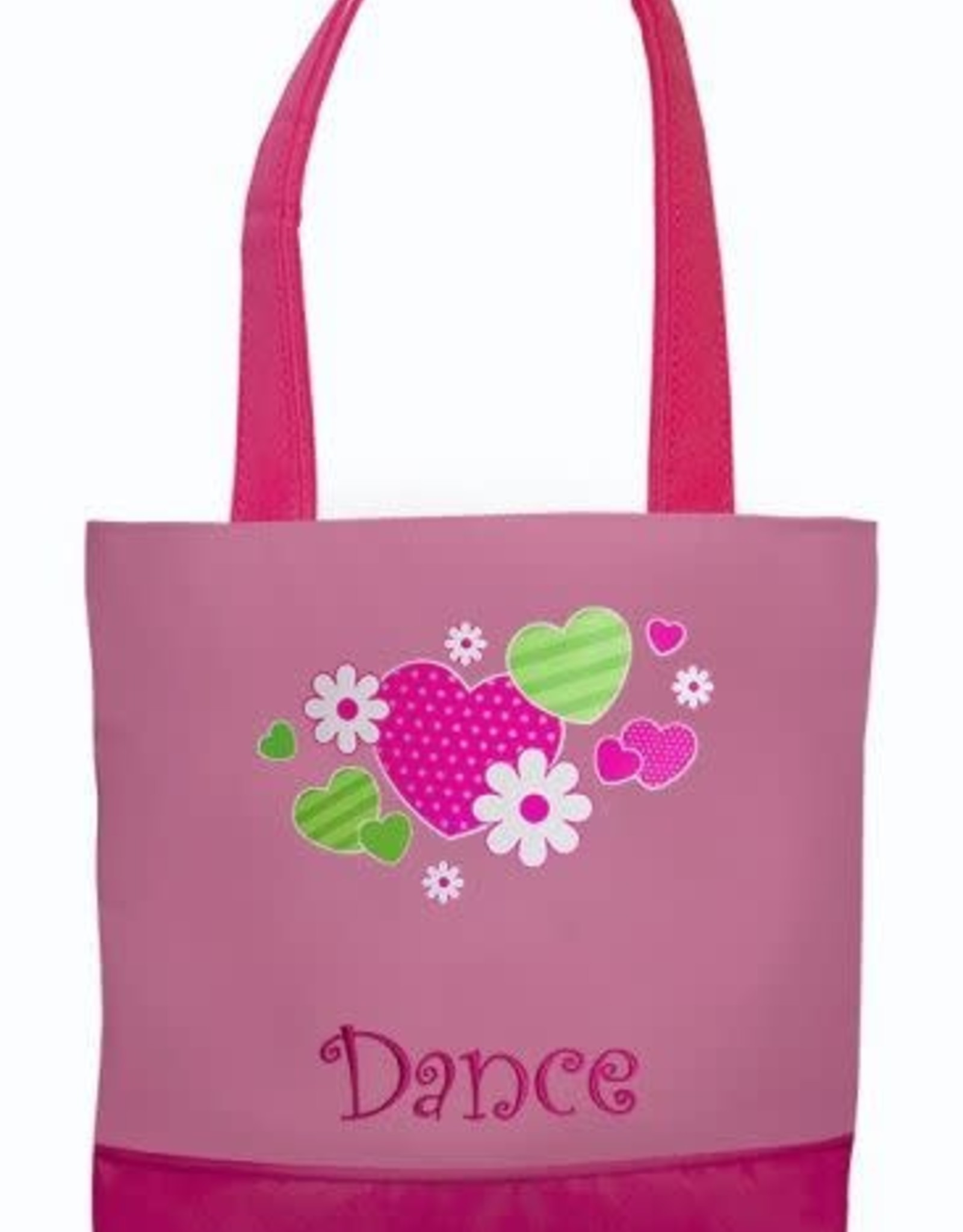 Sassi Designs HNF-01 Hearts & Flowers Tote