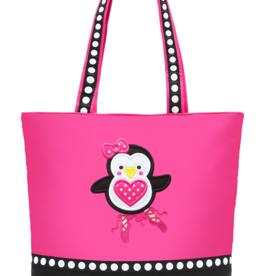 Sassi Designs PEN-01 Penguin Ballerina Tote