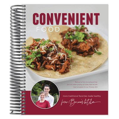 Briana Thomas Convenient Food Cookbook