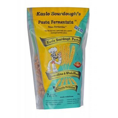 Kaslo Pasta Kaslo Sourdough Pasta  - Whole Wheat Radiatori (560 g)