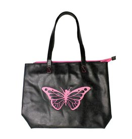 Trim Healthy Mama THM Butterfly Tote Bag - Pink