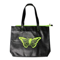 Trim Healthy Mama THM Butterfly Tote Bag - Green