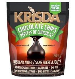 Krisda Krisda Semi-Sweet Stevia Chocolate Chips (285 g)