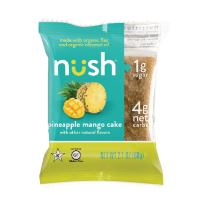 Nush Foods Nush Bar - Pineapple Mango