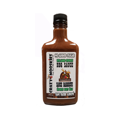 Crazy Mooskies Crazy Mooskies No Added Sugar BBQ Sauce - Island Spice (375 ml)