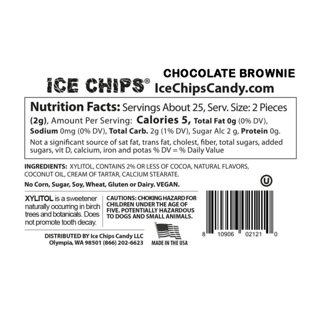 Ice Chips Ice Chips - Chocolate Brownie
