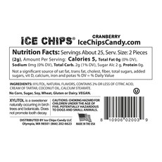 Ice Chips Ice Chips - Cranberry