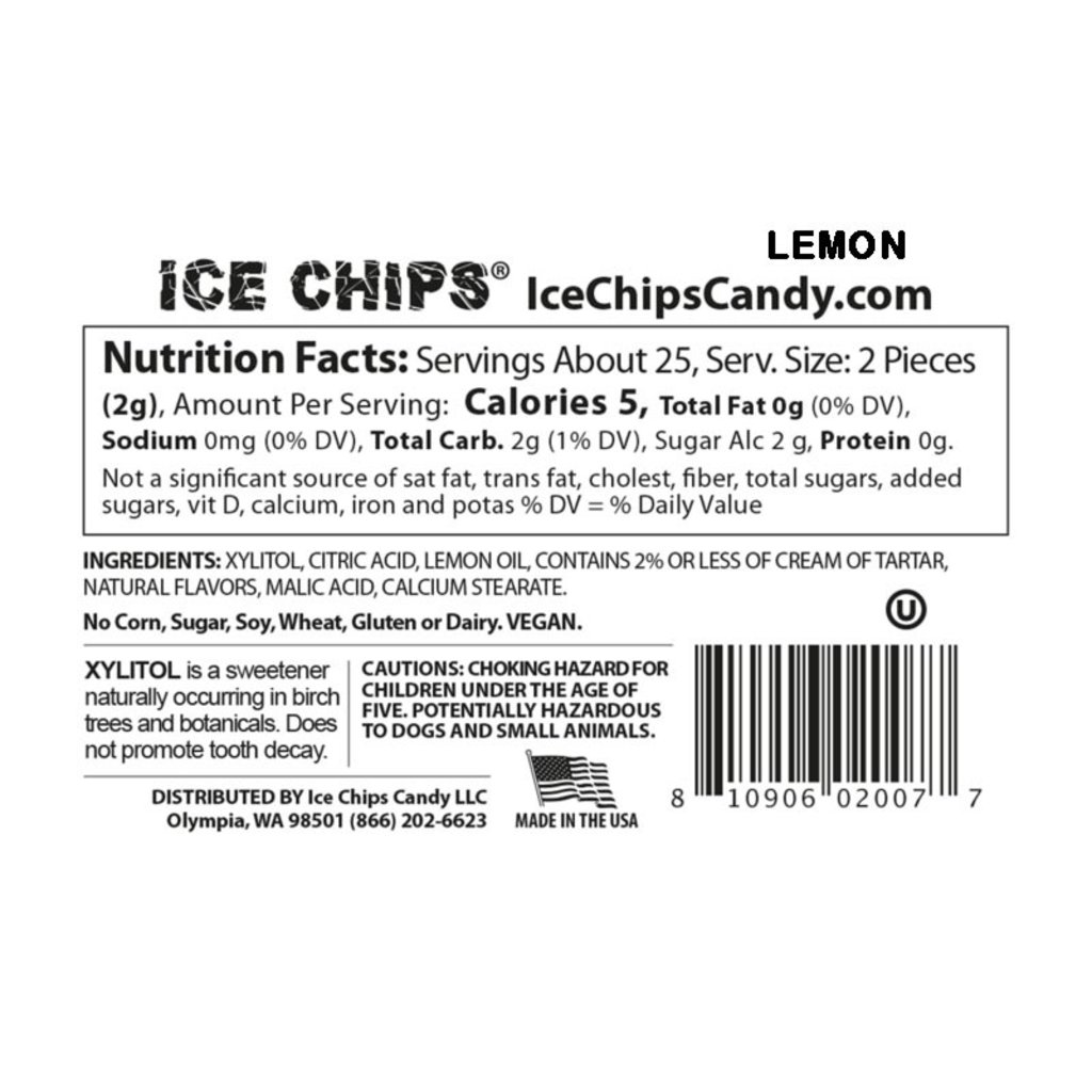 Ice Chips Ice Chips - Lemon