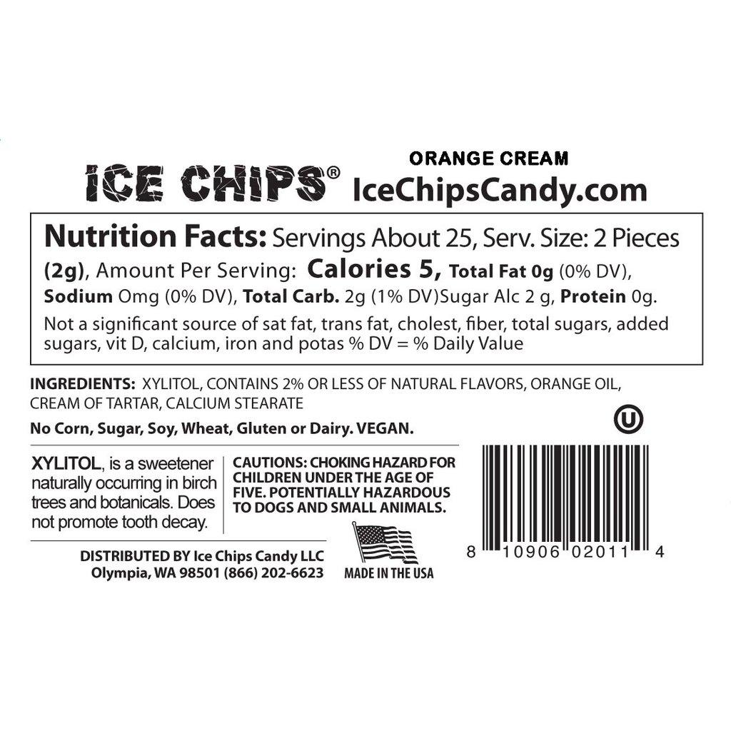 Ice Chips Ice Chips - Orange Cream