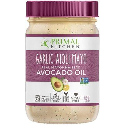Primal Kitchen Primal Kitchen  - Avocado Oil Garlic Aioli Mayo
