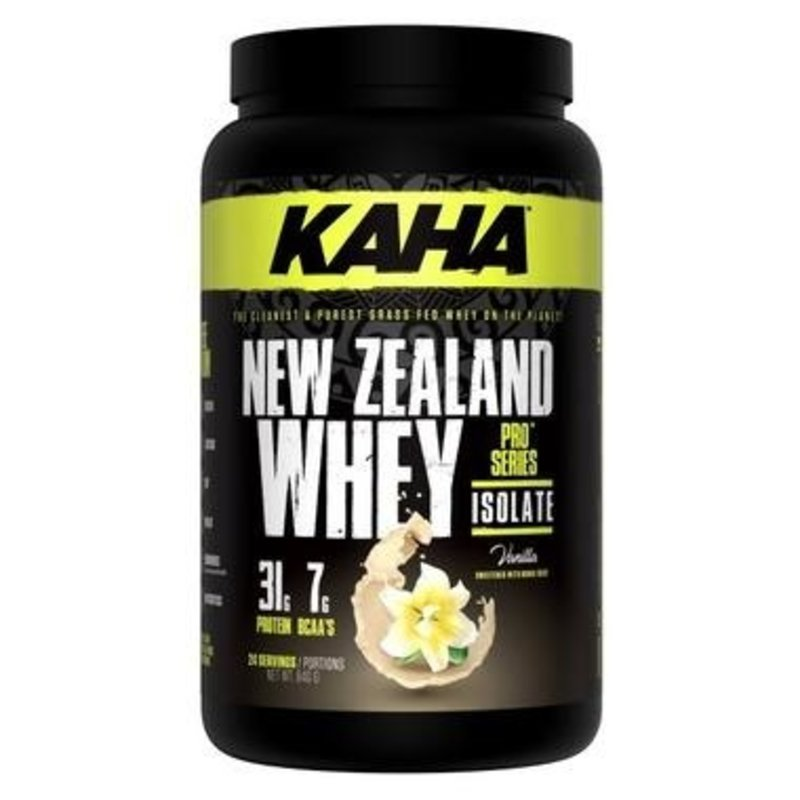 Perfect Sports Kaha NZ Whey Isolate, Vanilla - 840 grams