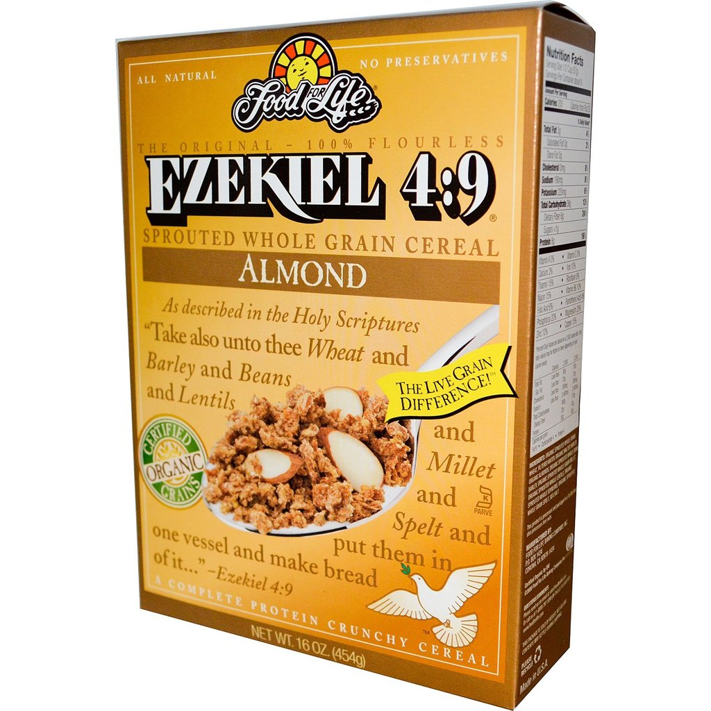 Food for Life Ezekiel 4:9 Sprouted Cereal - Almond (16 oz.)