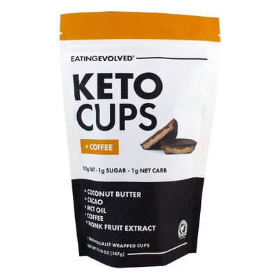 EatingEvolved Keto Cups + Coffee (5.18 oz.)