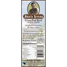 Nick's Sticks - Grass-Fed Beef Snack Sticks (48 g)