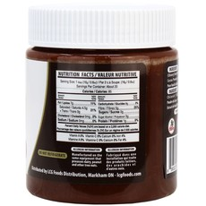 NutiLight - Dark Chocolate Hazelnut Spread (312 g)