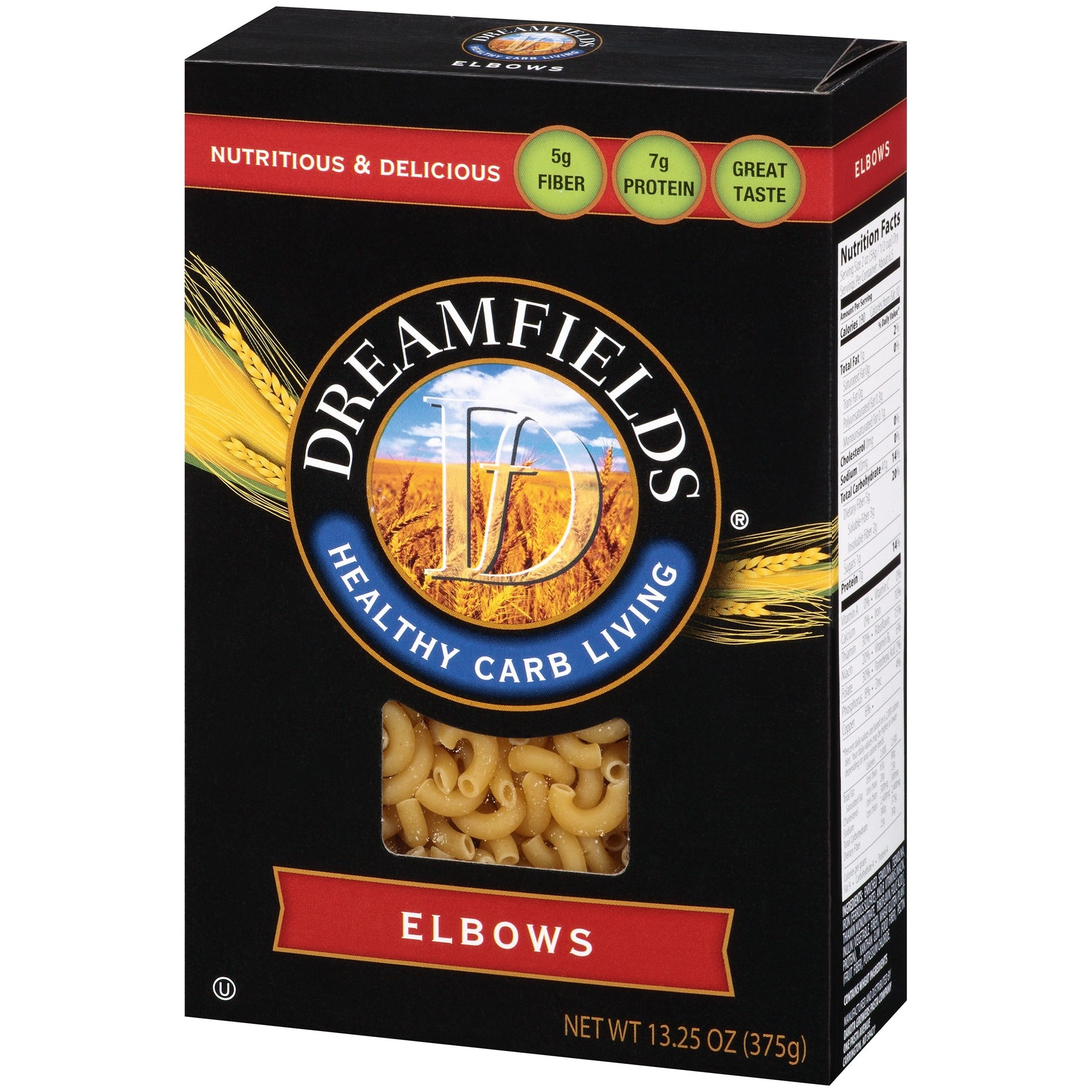 Dreamfields Elbow Noodles Healthy Family Foods