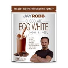 Jay Robb Jay Robb Non-GMO Egg White Protein Powder (24 oz) - CHOCOLATE
