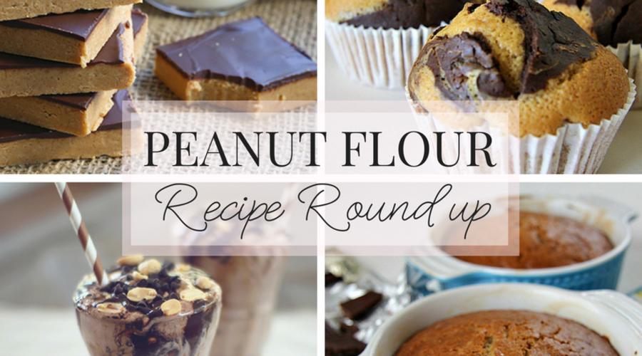 Peanut Flour Recipe Roundup