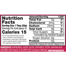 Nature's Hollow Raspberry Sugar-Free Jam Preserves - 10 oz. (280 g)