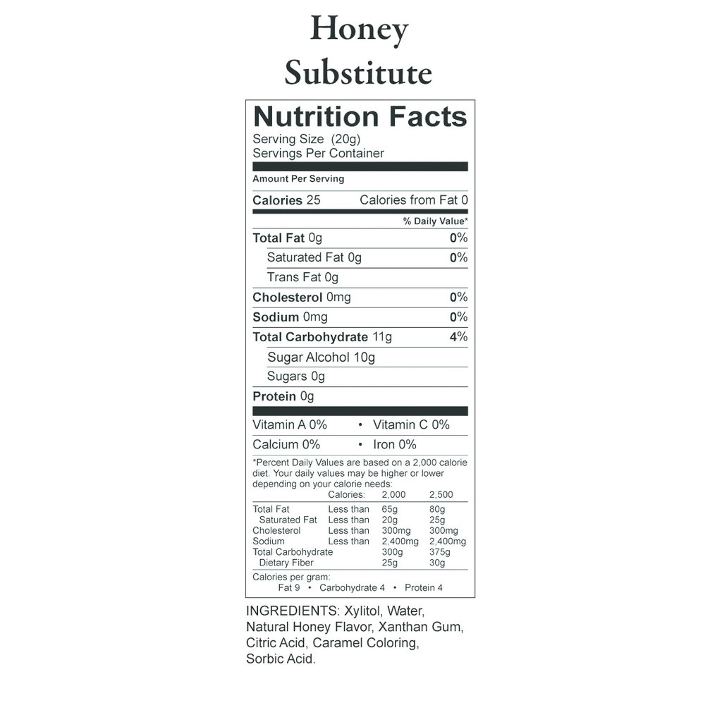 Nature's Hollow Nature's Hollow Sugar-Free Honey Substitute
