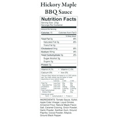 Nature's Hollow Hickory Maple Sugar-Free BBQ Sauce - 12 oz.