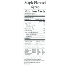 Nature's Hollow Sugar-Free Maple Pancake Syrup - 10 oz.