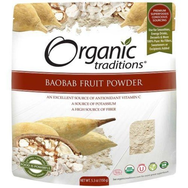 Organic Traditions Organic Traditions Baobab Fruit Powder (150 g)
