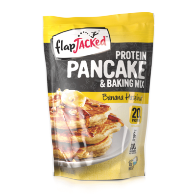 FlapJacked Flapjacked Protein Pancake Mix - Banana Hazelnut (12 oz.)