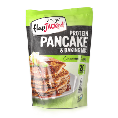 FlapJacked Flapjacked Protein Pancake Mix - Cinnamon Apple (12 oz.)