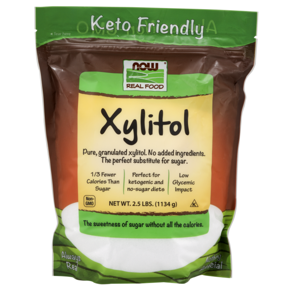 NOW NOW Xylitol (2.5 lb.)