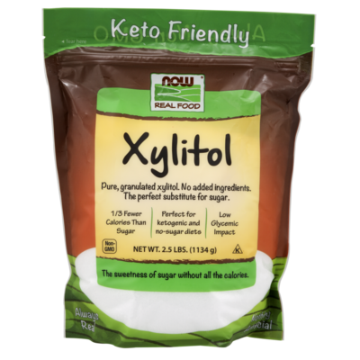 NOW NOW Xylitol (2.5 lbs.)