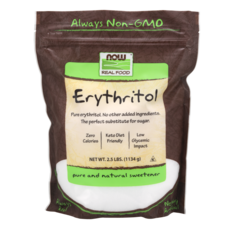 NOW NOW Erythritol Sweetener (2.5 lb.)