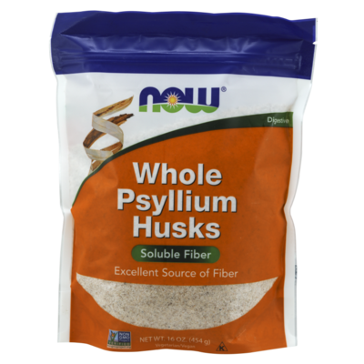 NOW NOW Whole Husk Psyllium (1 lb.)