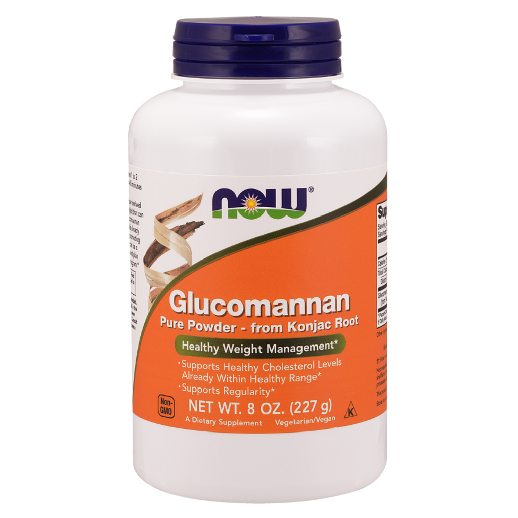 NOW NOW Glucomannan - 8 oz.