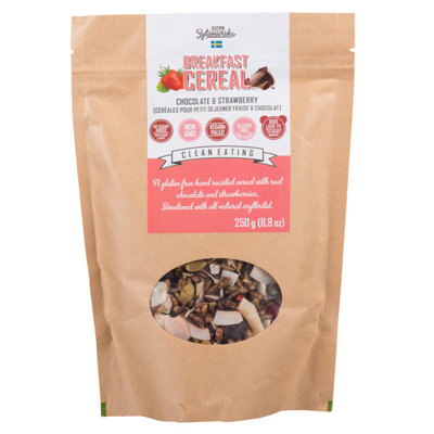 KZ Clean Eating KZ Clean Eating Muesli - Chocolate & Strawberry (250 g)