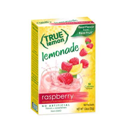 True Citrus True Lemon Drink Mix, Raspberry Lemonade - 10 pk
