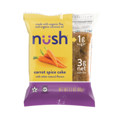 Nush Foods Nush Bar - Carrot Spice