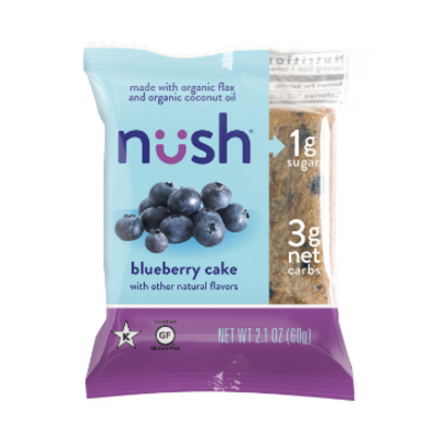 Nush Foods Nush Bar - Blueberry
