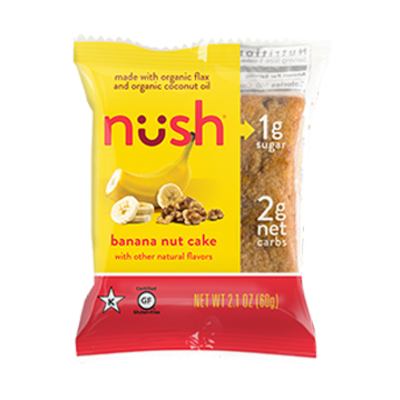 Nush Foods Nush Bar - Banana Nut