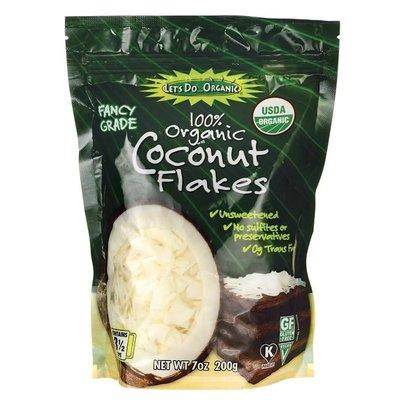 Organic Large Coconut Flakes - 200g