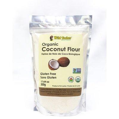 Wild Tusker Organic Coconut Flour - 500 grams
