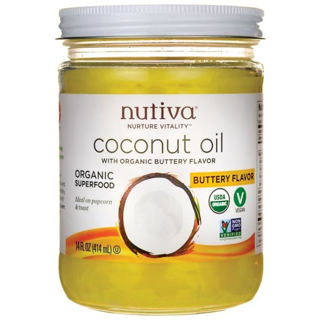 Butter Flavour Organic Coconut Oil - 14oz
