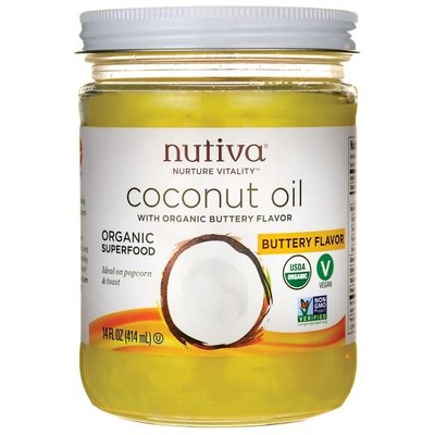 Butter Flavour Organic Coconut Oil (14 oz.)