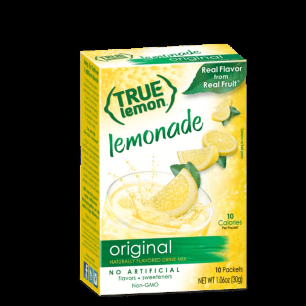 True Citrus True Lemon Drink Mix, Original Lemonade - 10 pk
