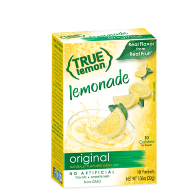 True Citrus True Lemon Drink Mix, Original Lemonade - 10 pk
